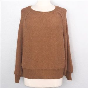 Alter'd State Nubby Ballon Sleeve Sweater S/M